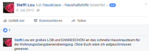 Hauskraus Facebook2 Rezension